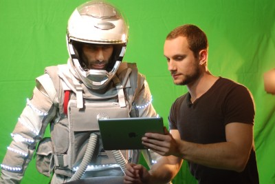 On the set of ASTRONAUT