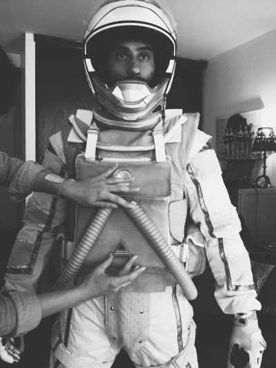 Creating the costume for ASTRONAUT